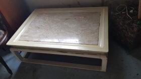 Mesa de centro madeira Mármore